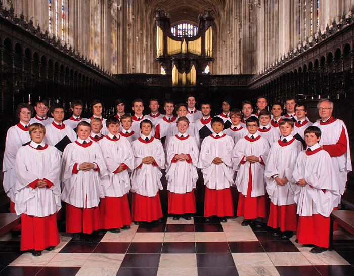 Viewing of the King's College Choir