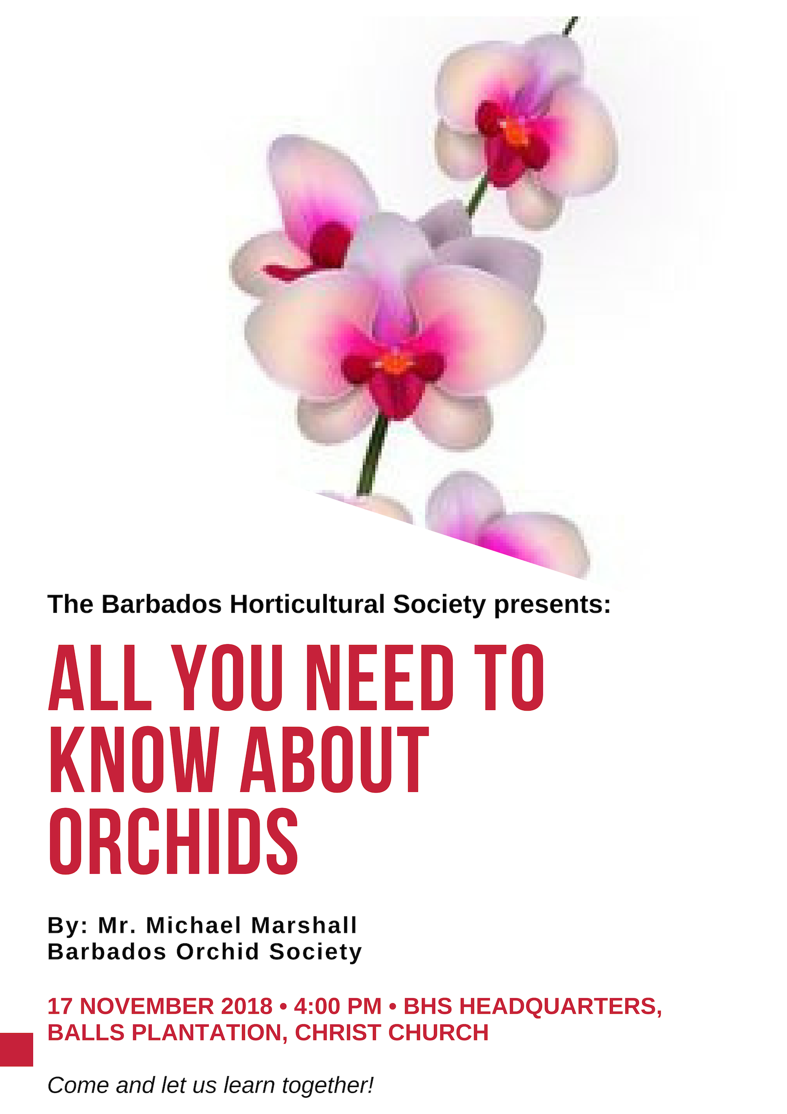 The Barbados Horticultural Society presents_