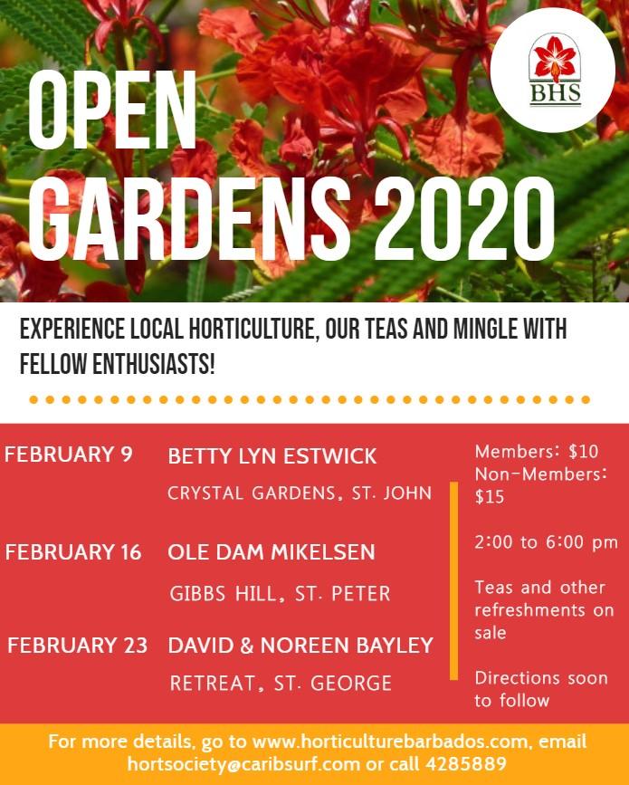 Open Gardens 2020